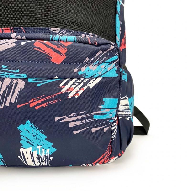 Рюкзак Galaxy Blue черно-синий - 8 фото