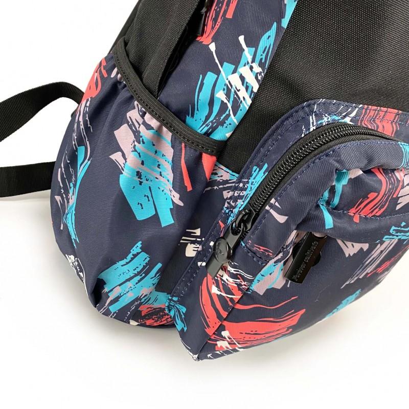 Рюкзак Galaxy Blue черно-синий - 9 фото