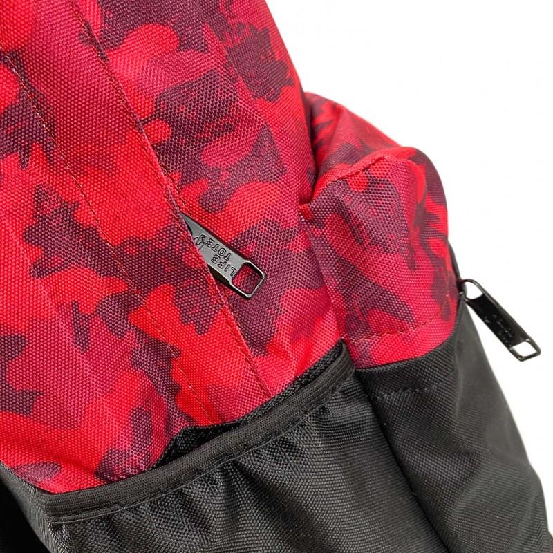 Рюкзак Battle бордовий камуфляж - 9 фото