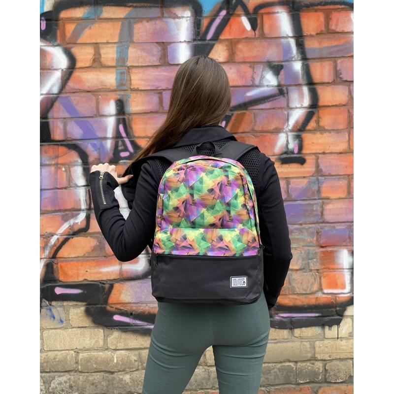 Жіночий рюкзак Illusion View різнокольоровий - 4 фото
