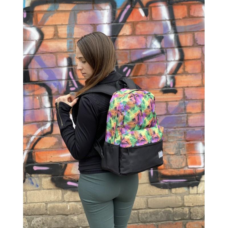 Жіночий рюкзак Illusion View різнокольоровий - 5 фото
