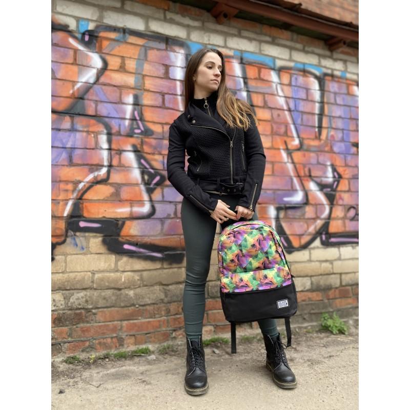 Жіночий рюкзак Illusion View різнокольоровий - 6 фото