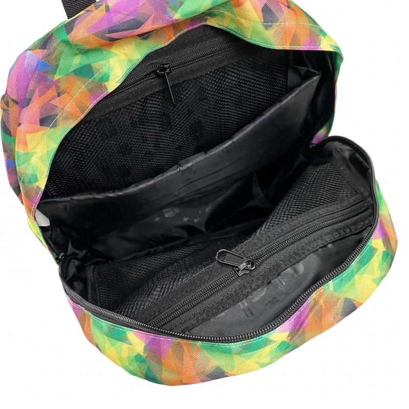 Жіночий рюкзак Illusion View різнокольоровий - 7 фото