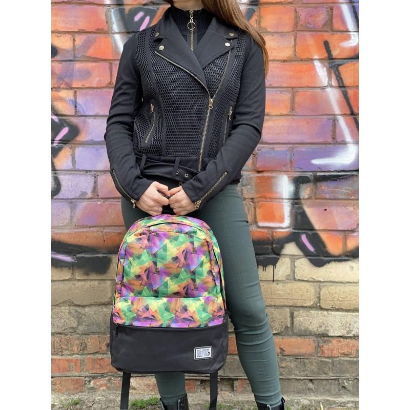 Жіночий рюкзак Illusion View різнокольоровий - 9 фото